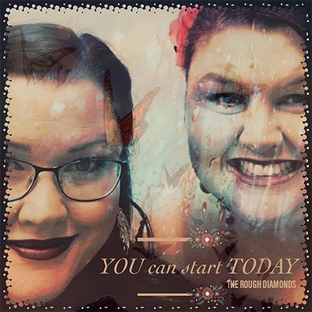 5DD656 - The Rough Diamonds - You Can Start Today - Cover